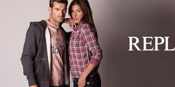 Stylové a pohodlné pánské oblečení Replay