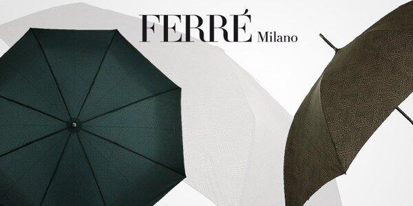 Nadčasový styl pánských deštníků Ferré Milano