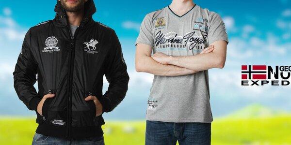 Stylové pánské sportovní oblečení Geographical Norway