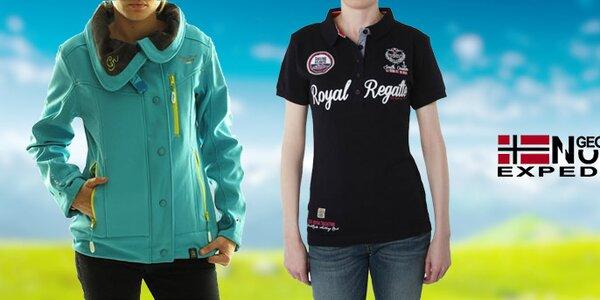 Stylové dámské sportovní oblečení Geographical Norway