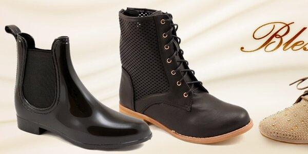 Bless - šmrncovní jarní dámská obuv