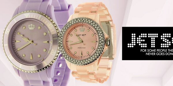 Originální švédské hodinky pro dámy Jet Set