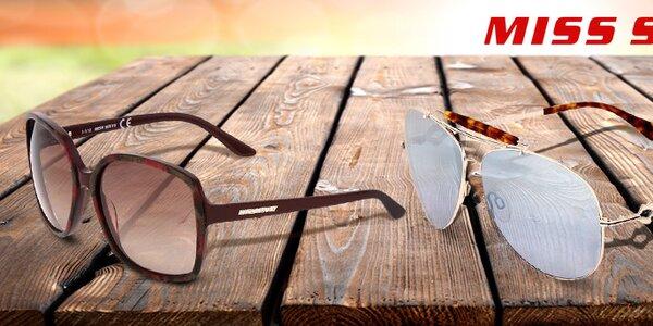 Přivolejte jaro se slunečními brýlemi Miss Sixty