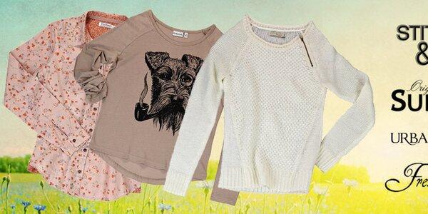 Stylové dámské streetové oblečení Urban Surface, Sublevel, Stitch&Soul a Fresh Made