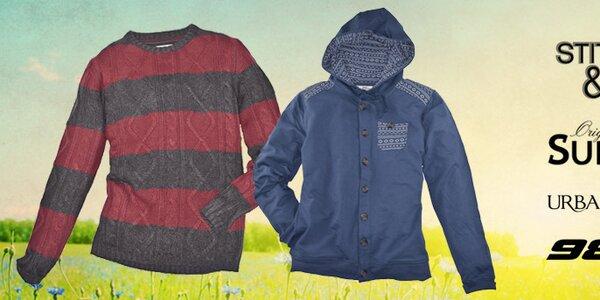 Pohodové streetové oblečení pro pány od značek Urban Surface, Sublevel, Stitch&Soul a Fresh Made