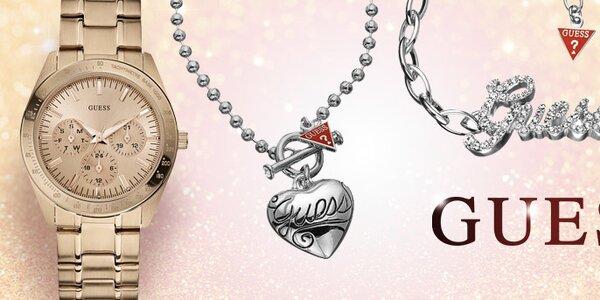 Osobité dámské šperky a hodinky Guess