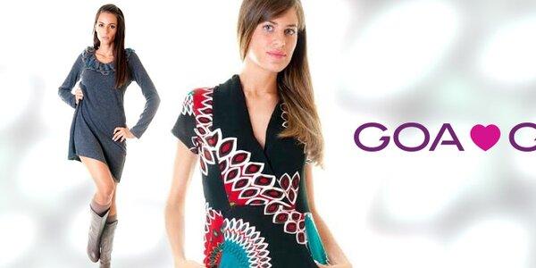 Šmrncovní italská móda pro dámy Goa Goa