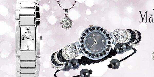 Elegantní dámské šperky a hodinky Ma´dor