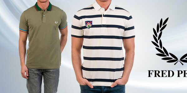 Kvalitní pánská pola, trička a košile Fred Perry