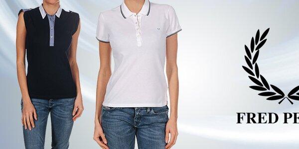 Kvalitní dámská pola, trička a košile Fred Perry