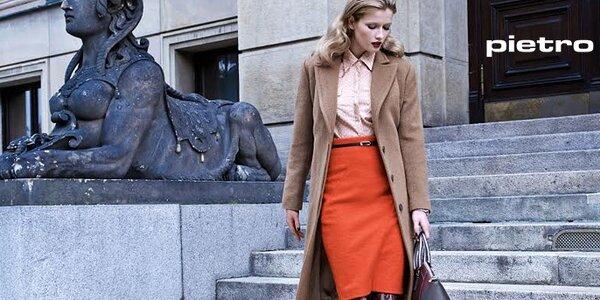 Nadčasová a sofistikovaná dámská móda Pietro Filipi