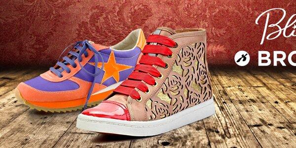 Odvážné i stylové dámské boty Blink & Bronx