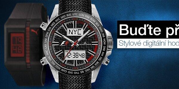Buďte přesní - stylové pánské digitální hodinky