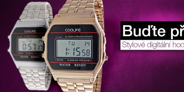 Buďte přesní - stylové dámské digitální hodinky