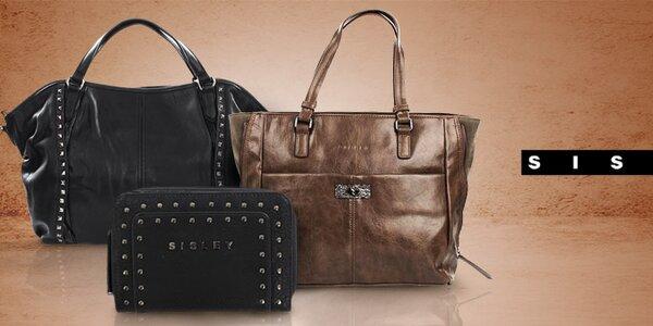 Stylové dámské kabelky a peněženky Sisley