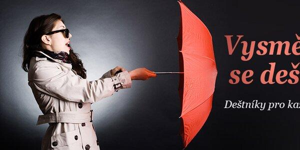 Deštníky pro každého skladem již od 199,-