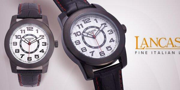 Luxusní pánské náramkové hodinky Lancaster