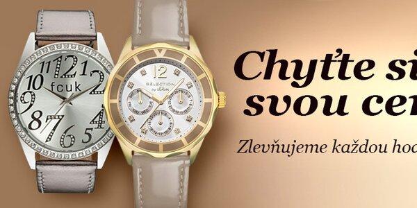 Chyťte si svou cenu! Dámské hodinky - vše skladem