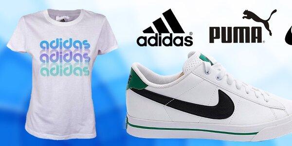 Dámská sportovní obuv i oblečení Nike, Adidas, Puma
