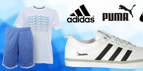 Pánská sportovní obuv i oblečení Nike, Adidas, Puma