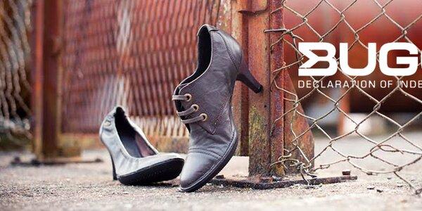 Kvalitní dámské boty z pravé kůže Buggy