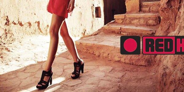 Red Hot - stylové dámské boty nejen na jaro