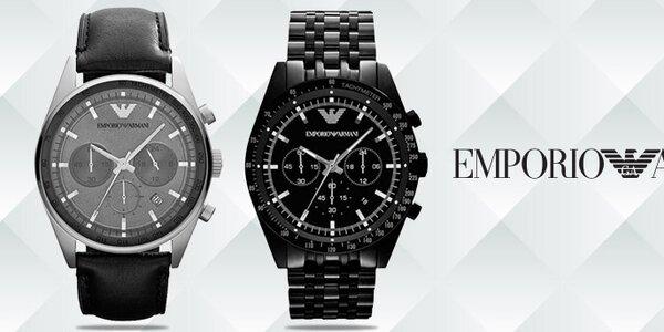 Luxusní hodinky pro pány - Emporio Armani