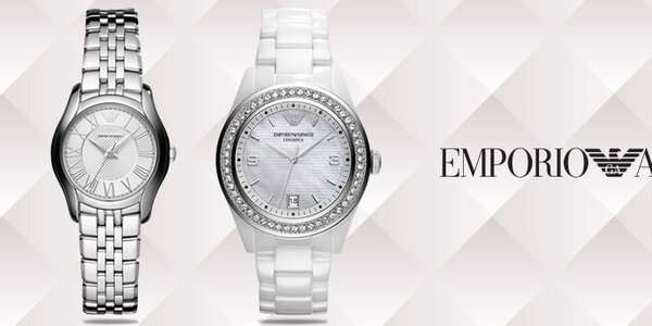 Luxusní hodinky pro dámy - Emporio Armani
