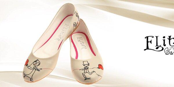 Oblíbená dámská obuv s potisky Elite Goby
