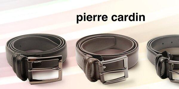 Nadčasové pánské pásky a peněženky Pierre Cardin