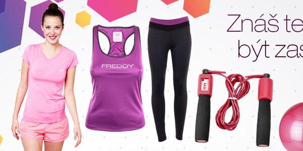 Dámské oblečení a doplňky pro fitness a sport