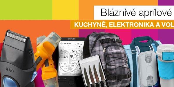 Jarní výprodej - kuchyně, elektronika a volný čas