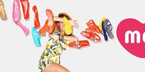 Mel - barevné a voňavé dámské letní botičky