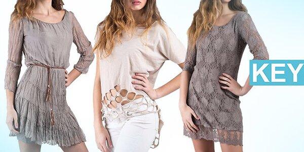 Dámská móda Keysha - příjemné materiály v italském stylu