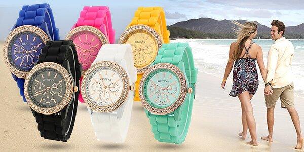 Nastavte si letní čas s barevnými hodinkami Geneva
