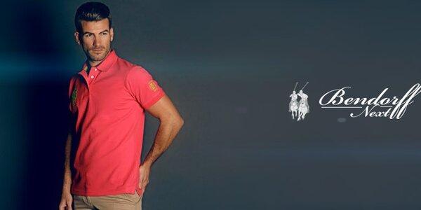 Pánská polo trička a volnočasové košile Bendorff Next