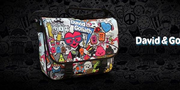 David&Goliath - tašky, batohy a doplňky s vtipnými potisky
