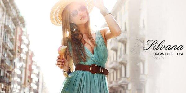 Italská móda Silvana Cirri - jarní barvy a zajímavé střihy