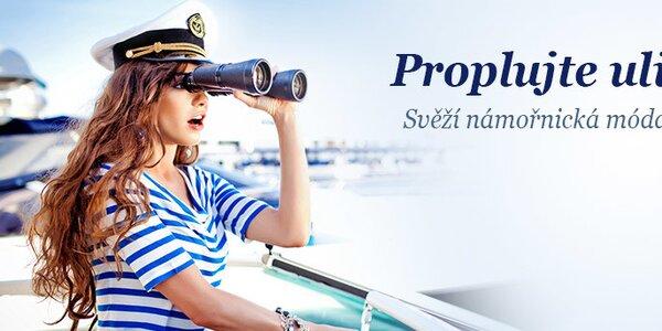 Móda pro opravdové námořnice - vše skladem!