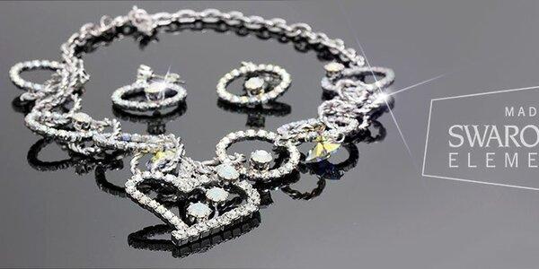 Oblíbené dámské šperky značky Swarovski