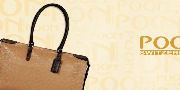Luxusní švýcarské dámské kabelky POON Bags