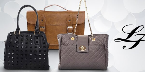 Do práce i za zábavou - kabelky London Fashion již od 299,-