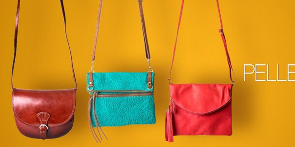 Pelleteria - kvalitní kožené kabelky a tašky z Itálie