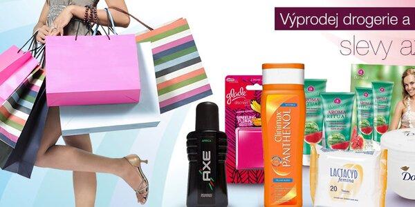 Výprodej dámské i pánské kosmetiky