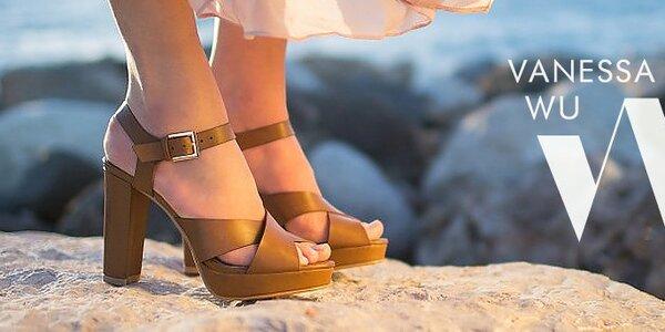 Dámské boty Vanessa - francouzská letní inspirace