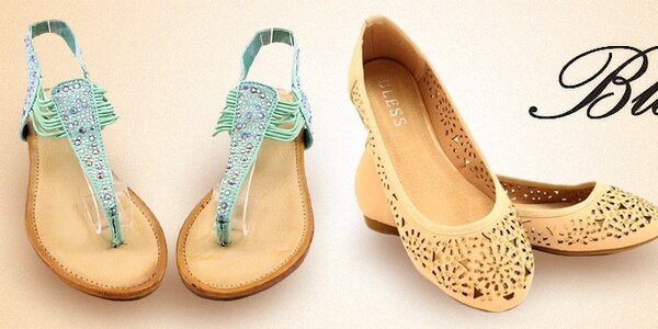 Dámské letní boty, sandály a balerínky Bless
