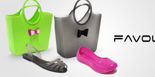 Dámské balerínky, sandály a veselé taštičky Favolla