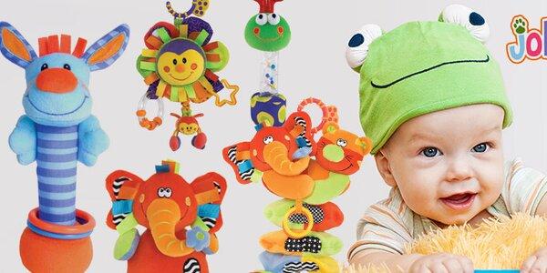 Kdo si hraje nezlobí - Jolly Baby hračky pro rozvoj miminka