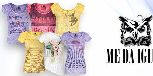 Me Da Igual - příjemná dámská trička a topy
