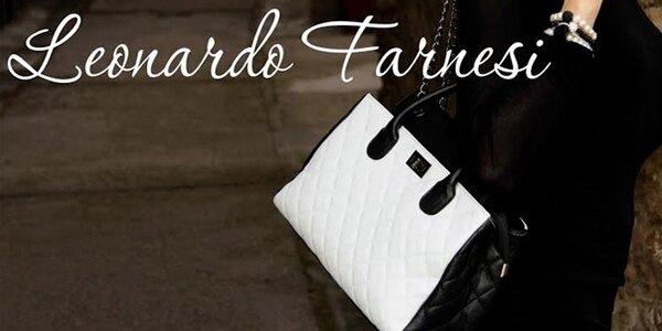 Italské kožené kabelky Leonardo Farnesi